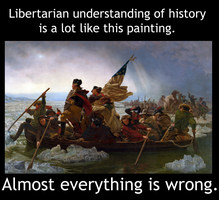 Liberatarians and History by Party9999999