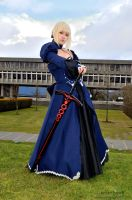 Saber Alter - Full Portrait C by DISC-Photography