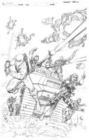 GCC GI JOE pencils by RobertAtkins