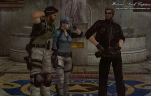 Welcome Back Captain by Captain-AlbertWesker