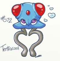 0072 - Tentacool by Electrical-Socket
