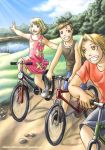 FMA: Riding The Bikes by Aileine