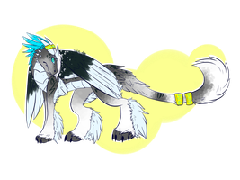 Royal Snow Dragon Adopt Auction( OPEN ) by toxicfox100