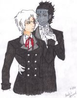 Tyki's infatuation:in color by PrincessStrawberry