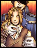 FMA -  The Lion's eyes by kishokahime