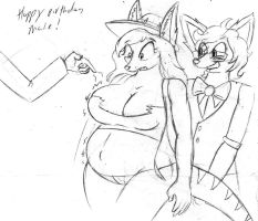 Birthday Belly by Barn-flakes