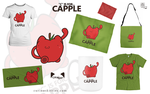 C is for Capple by ameshin