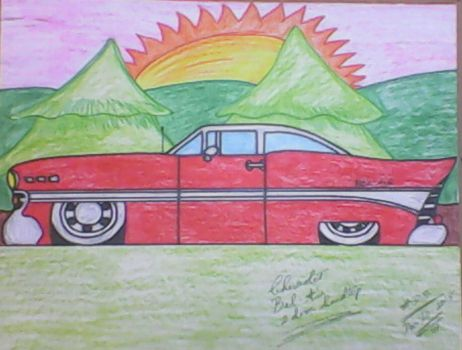 1957 Chevy Bel Air by adrian154