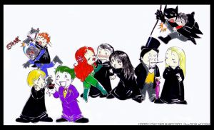 HP-Batman Villains UnitedXD by Nachan