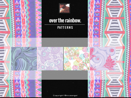 over the rainbow {patterns} by Arcaangel