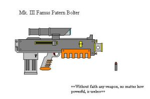 Famus Pattern Bolter by GolanArms