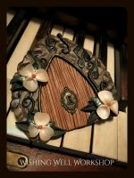 Polymer Clay Music Fairy Door by missfinearts
