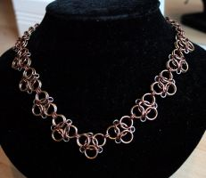 Champagne and Bronze Aura 3 Necklace - For Sale by Ichi-Black