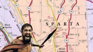 Leonidas teaches Geography by The-DCE
