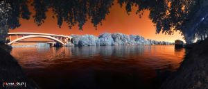 Infrared River by bamboomix