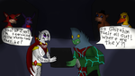 Two best villains play Five Nights at Freddy's by thedragonlover95