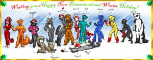 A Furry Christmas by MoonlitCavalier