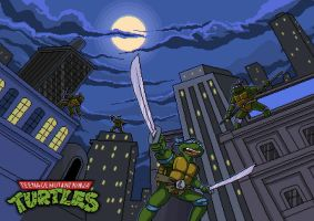 Teenage Mutant Ninja Turtles by vitalik-smile