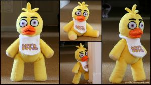 Five Nights At Freddy's - Chica - Plush by roobbo