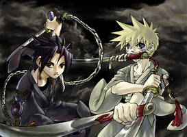 naruto -collab- by frogpuff