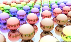Colorful Balls by robertllynch