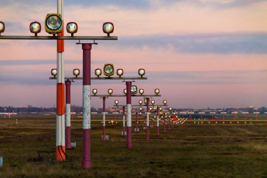 Airport Landing Lights by rpflamm