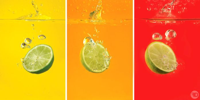 limes in water by sp333d1