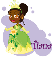 princess tiana by jenysa971