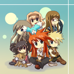 Chibi Tales of the Abyss by PhuiJL