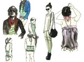 Fashion people by Marfigram