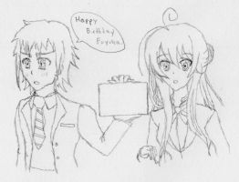 Accel World OC: Happy Birthday Fuyuka by Omnimon1996