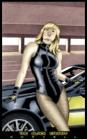 The Black Canary COLORED by DaleNorvell