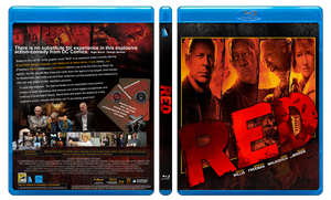 RED Custom blu ray cover by JamshedTreasurywala