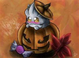 Silver's Jack-o-Lantern by DarkStarling716