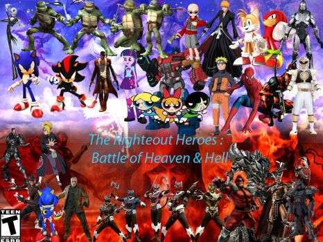 The Righteous Heroes War of Heaven and Hell by DylanCArt
