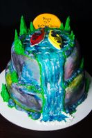 Cake for a Kayak Lover by KayleyMackay