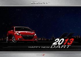 HAPPY NEW DART 2013 by ANOZER