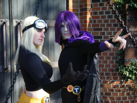 Raven and Terra Resubmitted by Immortal-Lucy