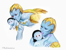 Laufey's Motherly Love and Instinct by Develv