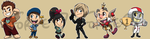 Stickers: Wreck-It Ralph by forte-girl7
