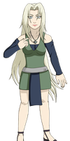 Commission: Lady--Tsunade (Amaya Uchiha) by ColorMyMemory