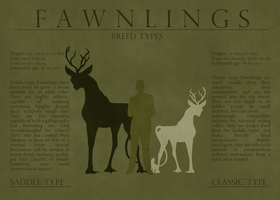 Fawnling Types by Ehetere