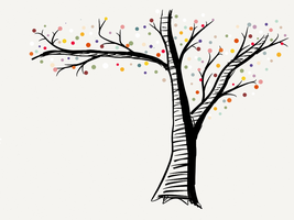 Dotted Tree by StarMinJee