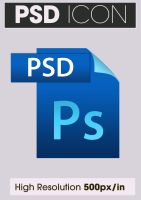 Adobe Photoshop PSD Icon by ARTartisan