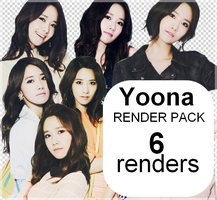 Render Pack 3 - Yoona (SNSD) by Starphine