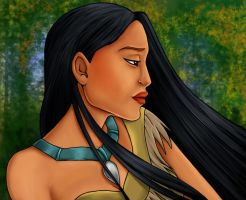Disney Princess: Pocahontas by Flamestaff