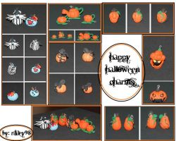 Happy Halloween Charms by Railey98