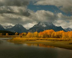 Oxbow Bend by Minorhero