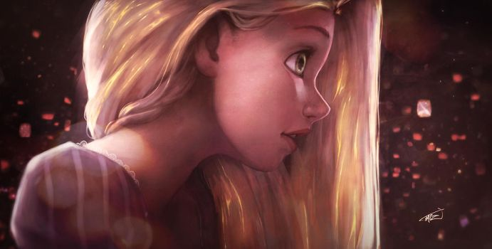 Rapunzel by UVER
