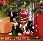 Black Jack Bunny - Christmas by maiyeng